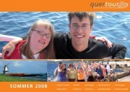 SOMMER 2008 - Quertour