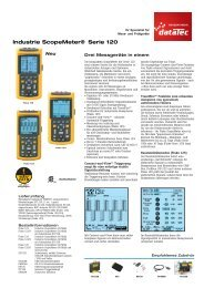 Industrie Scopemeter® Serie 120