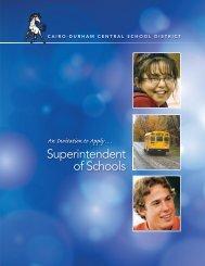 Superintendent of Schools - Questar III