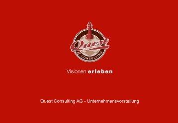 Unternehmenspräsentation (PDF) - Quest Consulting