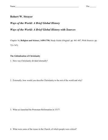 Henretta chapter 16 study guide