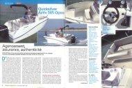 Boat test Activ 505 Open - Magazine: Pêche et ... - Quicksilver Boats