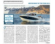 motor boat of the year 2013. - Quicksilver Boats