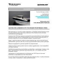 Pdf version - Quicksilver Boats