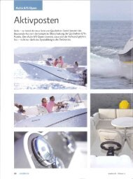 Test Activ 675 Open - Magazin: Marina.ch - Quicksilver Boats