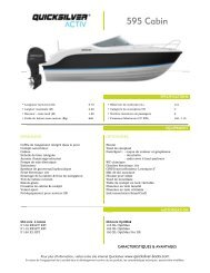 5 595 C Cabin n - Quicksilver Boats