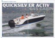 Prova - Activ 645 Cabin - Pianeta pesca - Quicksilver Boats