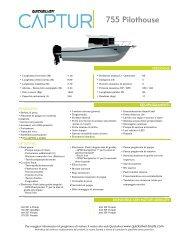 Schede prodotto 755 Pilothouse - Quicksilver Boats