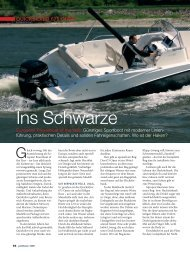 Test Activ 675 Open - Magazin: Yachtrevue - Quicksilver Boats