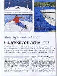 Full page fax print - Quicksilver Boats