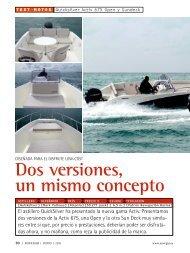 Prueba Activ 675 Open & Sundeck - Revista ... - Quicksilver Boats