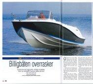 BÃ¥t test Activ 675 Sundeck - Quicksilver Boats