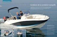 Le plaisir de la conduite tranquille - Quicksilver Boats