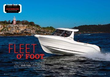 Boat Test 640 Pilothouse - Magazine - Quicksilver Boats
