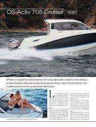 QS Activ 705 Cruiser TEST - Touron