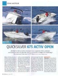 QUICKSILVER 675 ACTIV OPEN - Quicksilver Boats