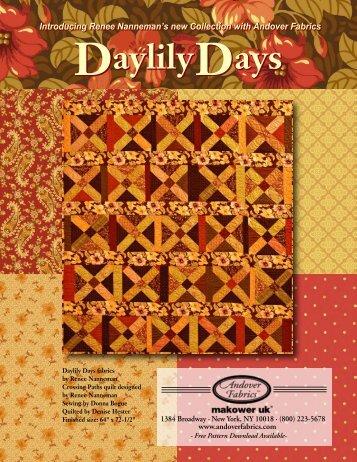 DaylilyDays DaylilyDays - Quilt-Blog.de