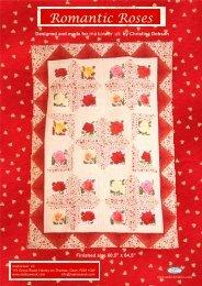 Romantic Roses pattern - Quilt-Blog.de