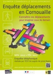 Communiqué de presse EDVM - Quimper Cornouaille Développement