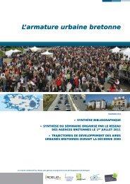 L'armature urbaine bretonne - Quimper Cornouaille Développement