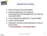 Ressources productives et création de valeurs ajoutées - Quimper ...