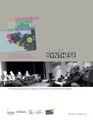 SYNTHÈSE - Quimper Cornouaille Développement