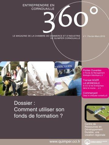 N° 1 - Février-Mars 2010 - (CCI) de Quimper Cornouaille