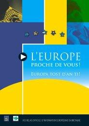 L'EUROPE - (CCI) de Quimper Cornouaille