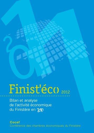 Bilan et analyse de l'activité économique du Finistère ... - CCI Morlaix