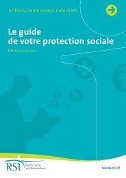 Le guide de votre protection sociale - (CCI) de Quimper Cornouaille