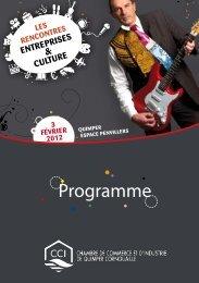 Programme - (CCI) de Quimper Cornouaille