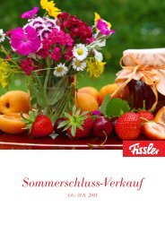 Sommerschluss-Verkauf