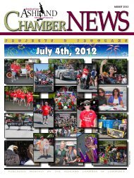 ChamberNEWS Chamber - Ashland Chamber of Commerce