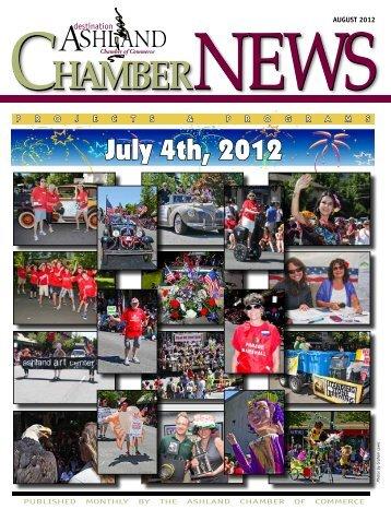 ChamberNEWS Chamber - Ashland Chamber of Commerce