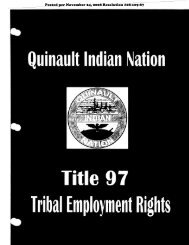 Title 97- Tribal Employment Rights POSTED - Quinault Indian Nation ...