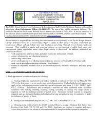 OUTREACH NOTICE LAW ENFORCEMENT OFFICER NORTH ...