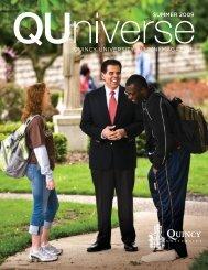 Summer 2009 - Quincy University