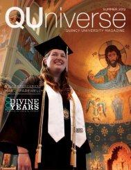 Summer 2012 - Quincy University