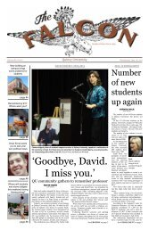'Goodbye, David. I miss you.' - Quincy University