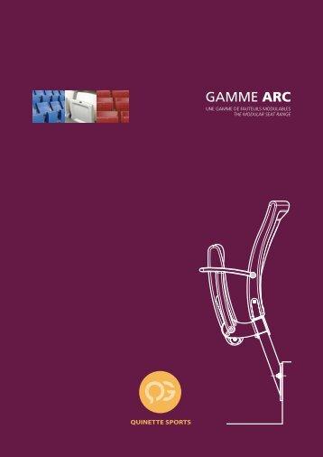 Gamme ARC - Stades
