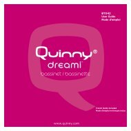 bassinet / bassinette - Quinny