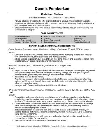 sle chrono functional resume with graphic