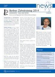 news – 4/2013 Marketing Design Solution www ... - Quintessenz.de