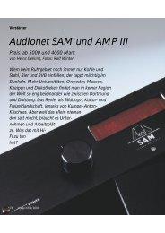 Audionet SAM und AMP III Preis