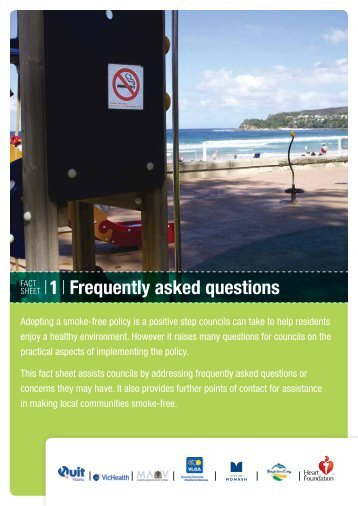 Download Fact Sheet 1 – Frequently asked questions - Quit Victoria