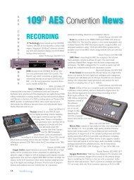 Euphonix MC Mix controller Issue 61