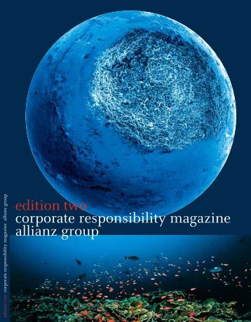 edition two corporate responsibility magazine ... - Phase 4 GmbH
