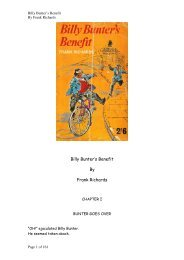 Billy Bunter's Benefit By Frank Richards - Friardale