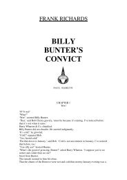 BILLY BUNTER'S CONVICT - Friardale