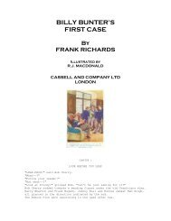 BILLY BUNTER'S FIRST CASE - Friardale